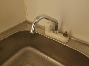 北九州市小倉北区で台所の蛇口水漏れ修理