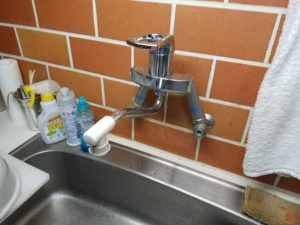 キッチンの蛇口水漏れ