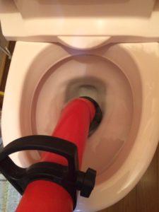北九州市八幡東区でトイレの詰まり修理