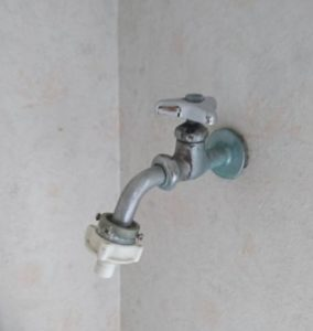北九州市小倉南区で洗濯蛇口の水漏れ修理