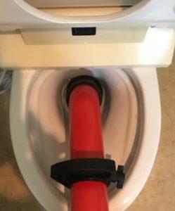 北九州市八幡東区でトイレのつまりを3980円で修理。
