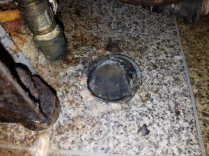 北九州市小倉南区でキッチンの詰まり修理。