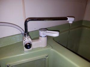 北九州市小倉北区でお風呂の蛇口の水漏れ修理