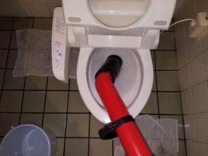 北九州市小倉北区でトイレのつまり。作業料金3980円