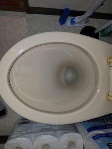 北九州市小倉北区でトイレのつまりを3980円で修理。