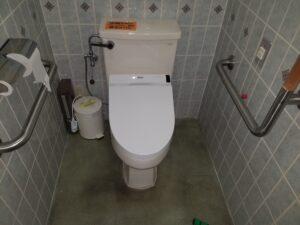 北九州市門司区でトイレの交換工事。