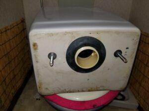 トイレの水濡れ